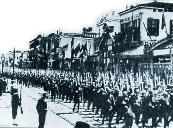 Ελληνικά στρατεύματα στη Σμύρνη - 1919