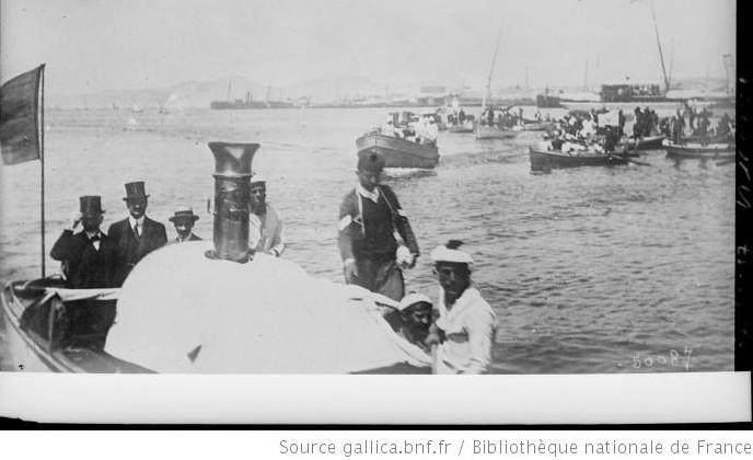 O Βενιζέλος επιστρέφει στην Αθήνα στις 27 Ιουνίου 1917 - φωτο Wikipedia