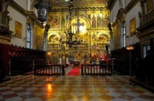 Εσωτερικό εκκλησίας Αγίου Γεωργίου