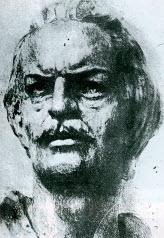 Ο Εμμανουήλ Παπάς (Σχέδιο του γλύπτη Κ. Παλαιολόγου, Αθήνα, Εθνικό Ιστορικό Μουσείο)