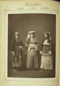 Νησιώτικες ενδυμασίες 1873