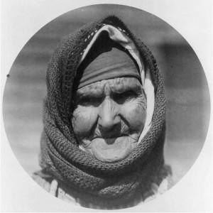 Ελληνίδα γερόντισα από Θεσσαλονίκη 1923